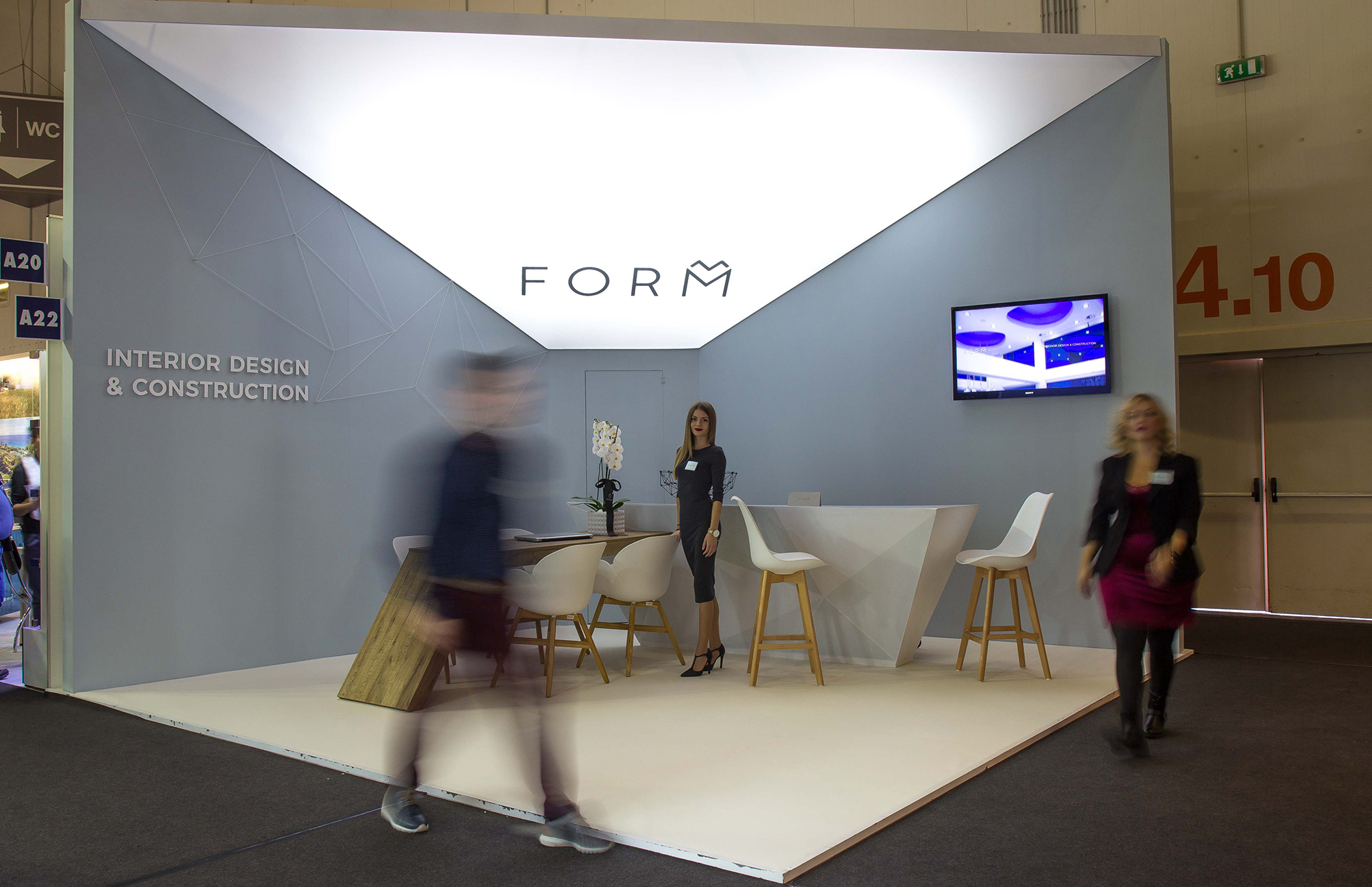 FORM - exhibition stand Xenia 2017